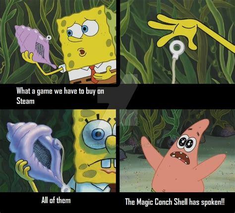 The Conch Has Spoken Meme - the magic conch shell has spoken by dawnshepherd1 on