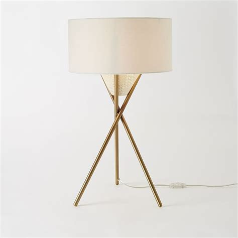 West Elm Tripod Table by I Want This Mid Century Tripod Table L West Elm