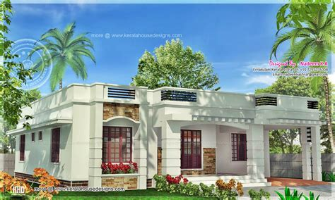 marvelous single floor home plans #3: kerala-one-floor.jpg