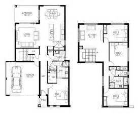 4 bedroom floor plans 2 story 17 best ideas about storey house plans on