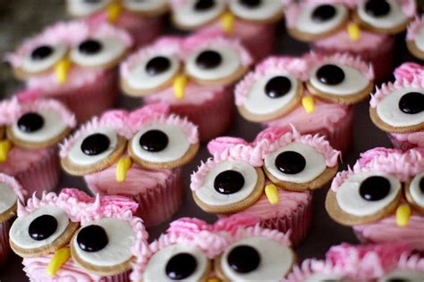 How To Make Owl Cupcakes For Baby Shower by Pink Owl Cupcakes Drinks