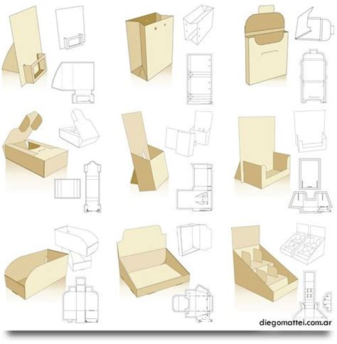 packaging box template 253 free display and packaging templates wow your