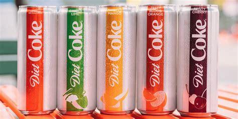 Cherry Coke Unveils Designer Cans by Diet Coke Four New Flavors Simplemost