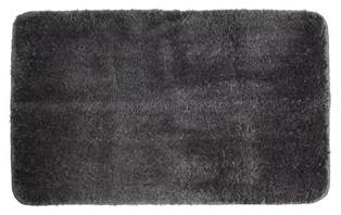 shower rug amazon com j m home fashions microfiber bath rug dark