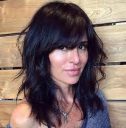 layered hairstyles with bangs for americans that hairs thinning out 40 side swept bangs to sweep you off your feet