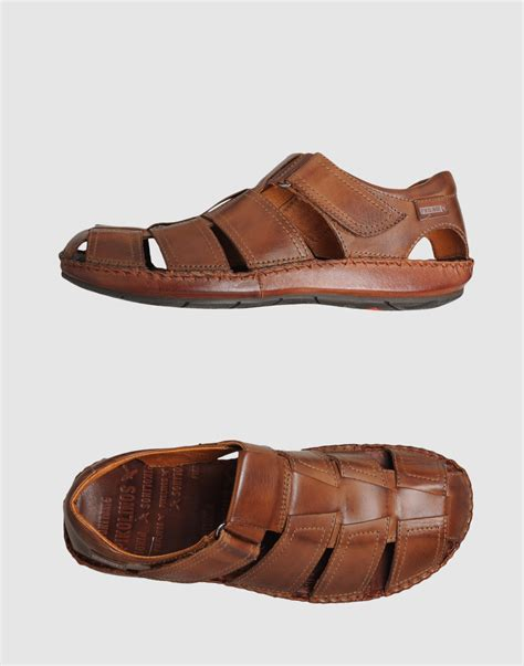 pikolinos sandals pikolinos sandals in brown for lyst
