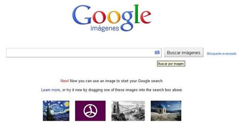 buscar imagenes google url google ya permite realizar b 250 squedas utilizando im 225 genes