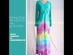 Gamis Pelangi Bali jual baju gamis pelangi tiedye dress