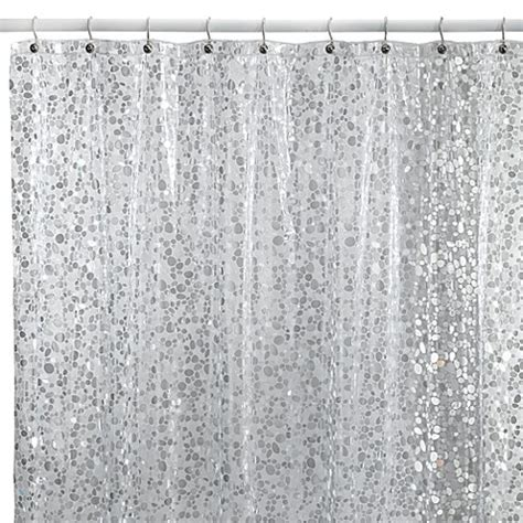 shower curtain silver buy silver shower curtain from bed bath beyond