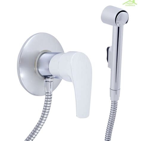 douchette bidet mitigeur bidet toilettes encastrable kongo en chrome avec