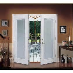 Patio Doors With Blinds Shop Reliabilt 174 6 Reliabilt Patio Door Steel