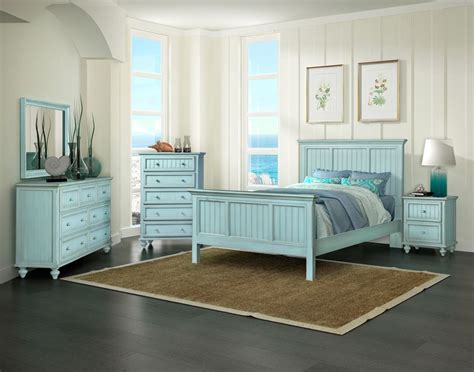 blue bedroom furniture monaco casual bedroom collection bleu sea winds