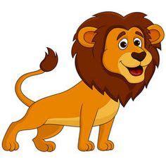 Whimsical Wall Murals cartoon lion the wild pinterest cartoon lion and