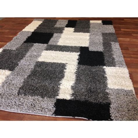 Cheap Black Area Rugs by Area Rugs Interesting Black Shag Area Rug Large Black