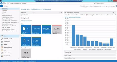 Microsoft Nav microsoft dynamics nav 2015 overview new features