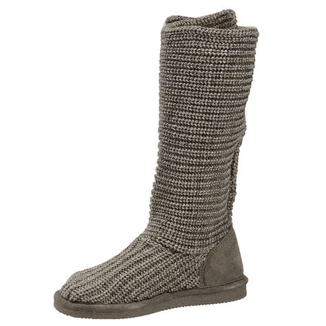 knit boots bearpaw knit s boot ebay