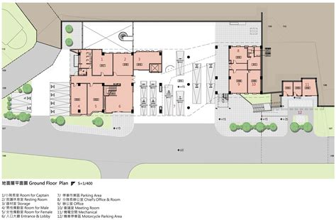 firehouse floor plans gallery of da yo fire station k architect 40