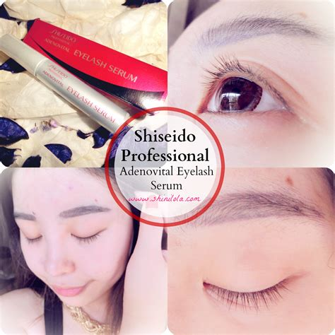 Shiseido Eyelash Serum buy shiseido adenovital eyelash serum longer lashes