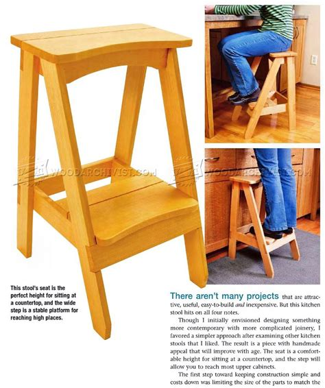 Step Stool Design Plans by Kitchen Step Stools Kitchen Design Ideas