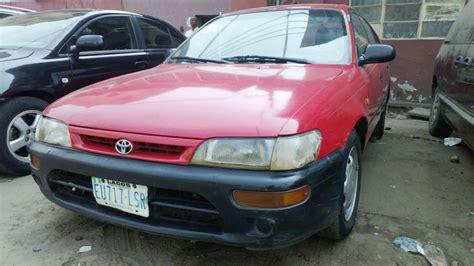 Toyota Corolla Hatchback 1994 1994 Toyota Corolla Hatchback 350k Sold Autos Nigeria