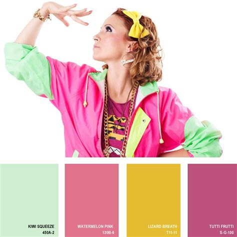 1980s colors 17 best images about color palettes of the past on