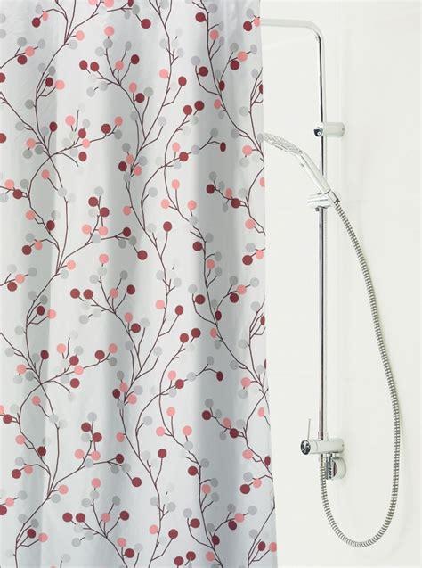 hochwertiger duschvorhang jette    cm mit  mm oesen