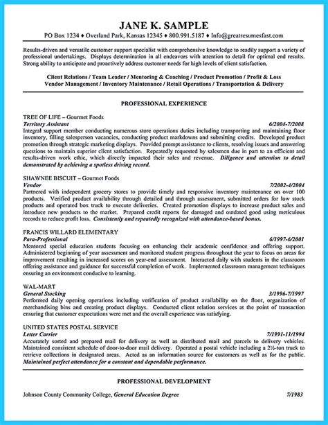 Resume Career Objective Management crafting a great assistant store manager resume