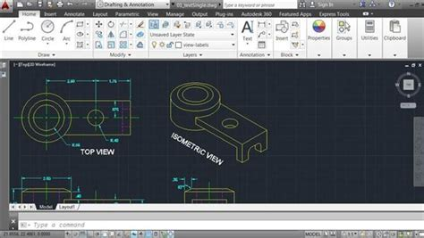 autocad 2014 essential training 1 interface and drawing design continuous and baseline dimensions in autocad 2014