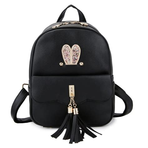 Tas Ransel Sekolah Terbaru tas wanita terbaru tsf1269 black tas ransel tas punggung