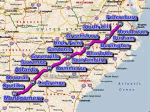 i 85 road maps traffic news