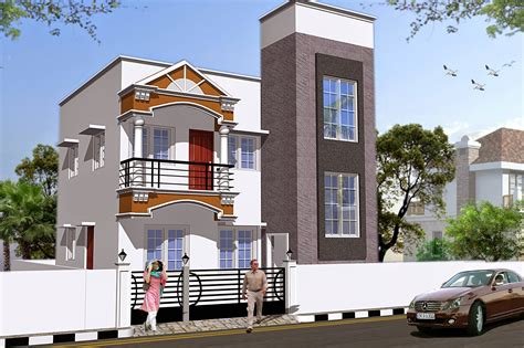 3d home builder 3d home view apartment elevation delhi elevation