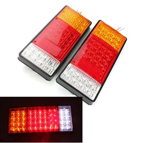 led boat trailer light kit 2x 44 led indicator light ute boat trailer truck