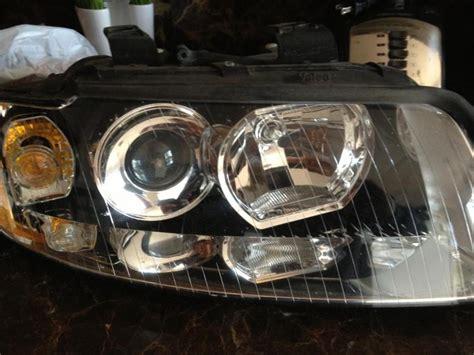 audi a4 headlights for sale oem a4 b6 halogen headlights sets mint audi