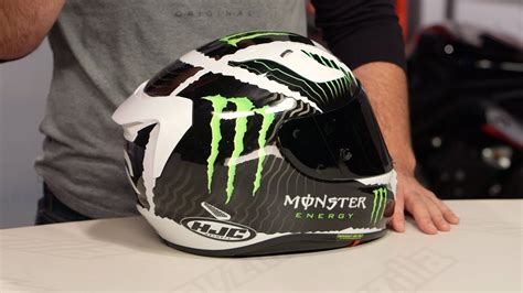 Helm Aufkleber Monster Energy by Hjc Rpha 11 Pro Monster Military Helmet Review At Revzilla
