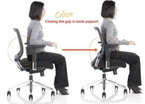Productive spaces friant chair new way to support lumbar