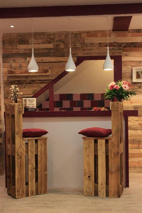 ideas de sillas de bar de palets  love palets