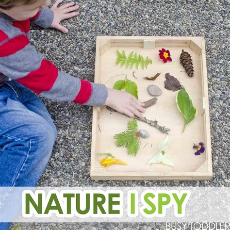 kindergarten activities nature nature i spy with toddlers busy toddler