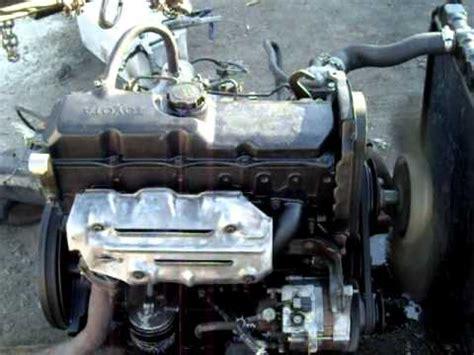 Toyota 5l Diesel Engine Toyota Hilux Diesel Engine Check 2l 3l 5l