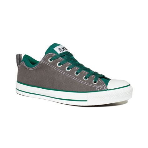 oxford sneakers mens converse chuck dual collar oxford sneakers in gray
