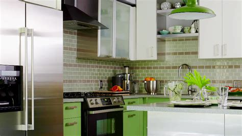 Kitchen Design And Color Best 19 Kitchen Colors In Green 2018 Gosiadesign