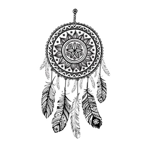 lolitattoo tribal dream catcher