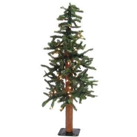 3 alpine christmas tree with lights shop hobby lobby