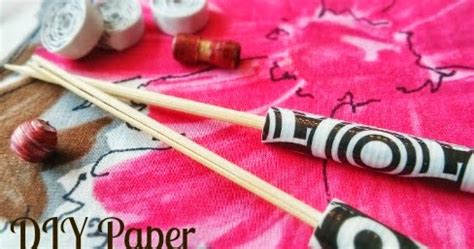 How To Make Your Own Rolling Paper - house revivals how to make your own paper bead roller