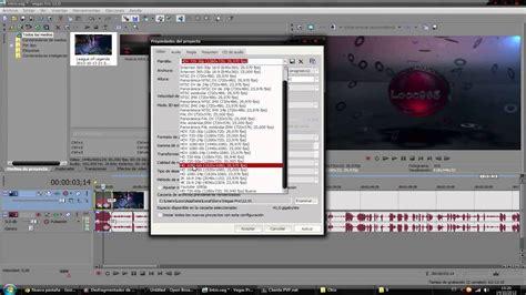 tutorial renderizar sony vegas pro 12 como renderizar con sony vegas pro 12 para youtube