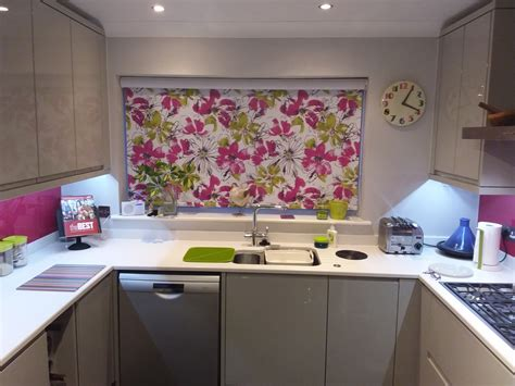 kitchen blind ideas kitchen roller blinds fitted in this norwich home