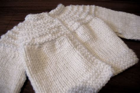 simple baby sweater to knit a snowy white biscuit sweater viola jo biscuit