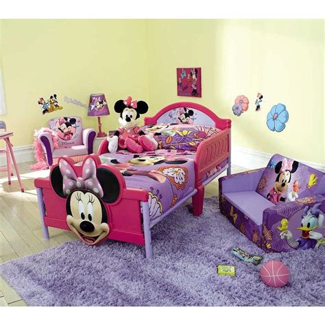 Minnie Mouse Bedroom Set by Minimalist Bedroom With Purple Minnie Mouse Toddler