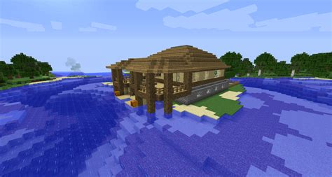 minecraft island house minecraft island house 2 by cosmic155 on deviantart