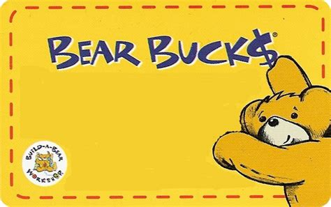 Build A Bear Gift Card - retail