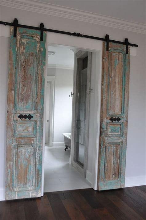reciclar puertas viejas ideas  puertas de madera recicladas puertas de granero interiores